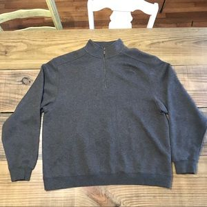 L.L. Bean quarter zip sweater